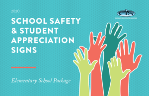 CIS School Safety Sign - Elementary School